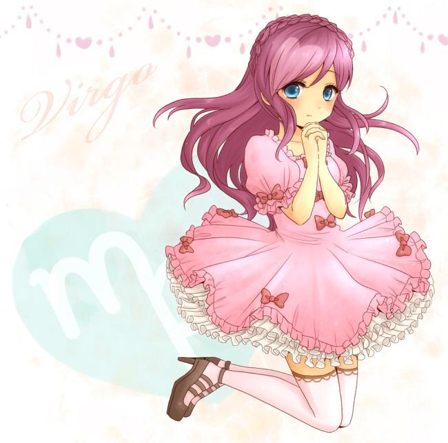 Hình ảnh cung Xử Nữ cute