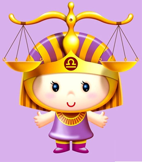 Hình ảnh hoạt hình cung Thiên Bình