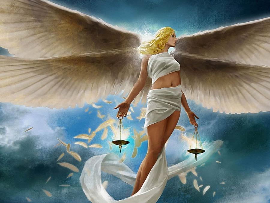 Hình ảnh thiên thần cung Thiên Bình