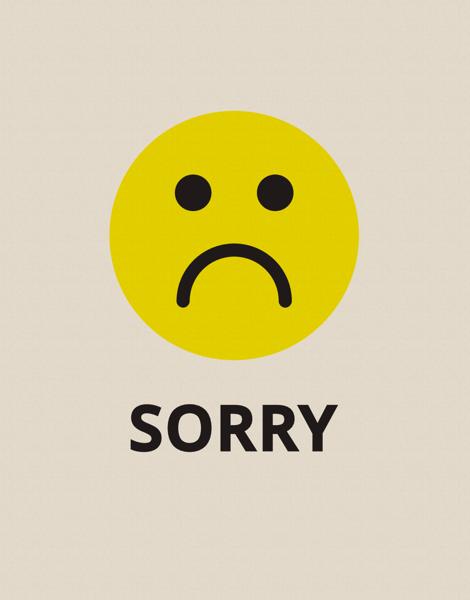 Ảnh xin lỗi người yêu buồn