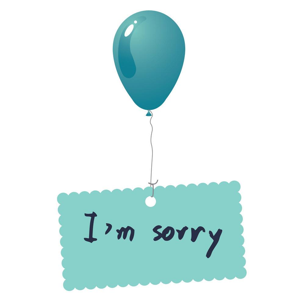 Ảnh xin lỗi người yêu ngộ nghĩnh