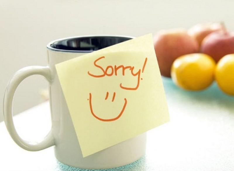 Hình ảnh lời xin lỗi gửi người yêu