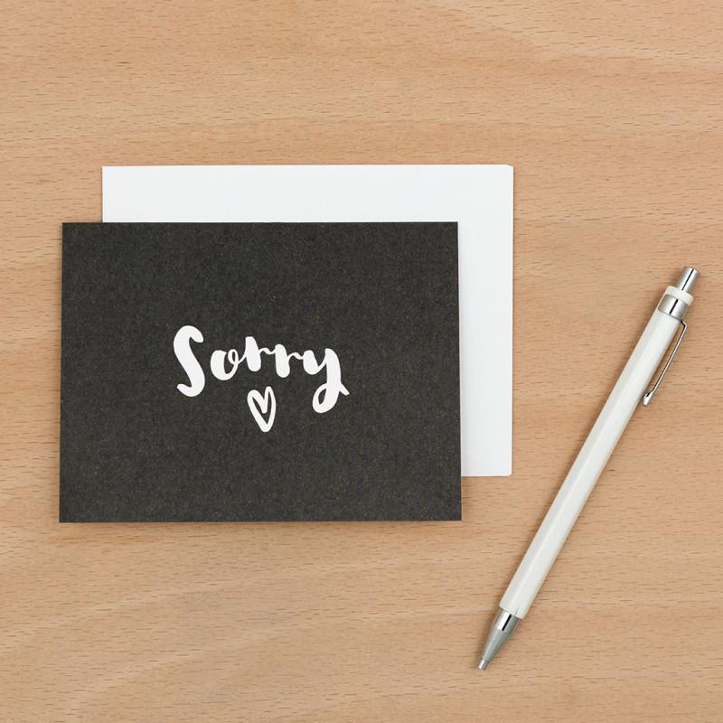 Hình ảnh tấm thiệp xin lỗi người yêu