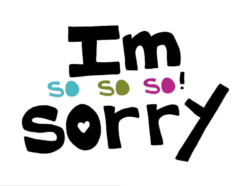 Hình ảnh xin lỗi người yêu bằng tiếng anh