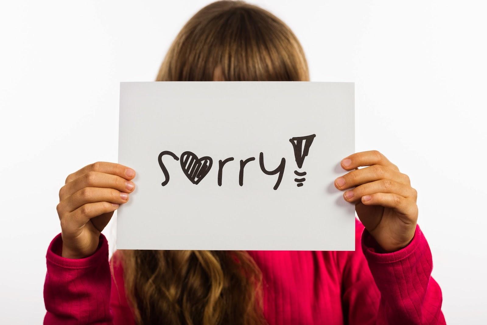Hình ảnh xin lỗi người yêu cảm động