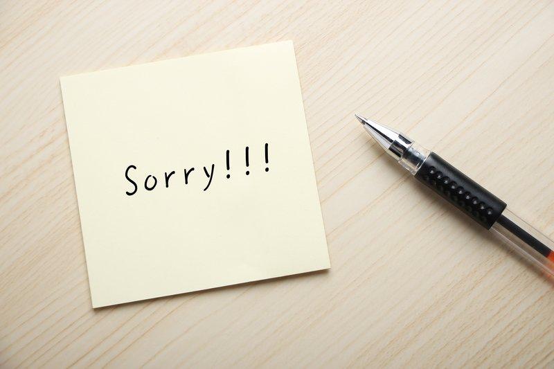 Hình ảnh xin lỗi người yêu đơn giản