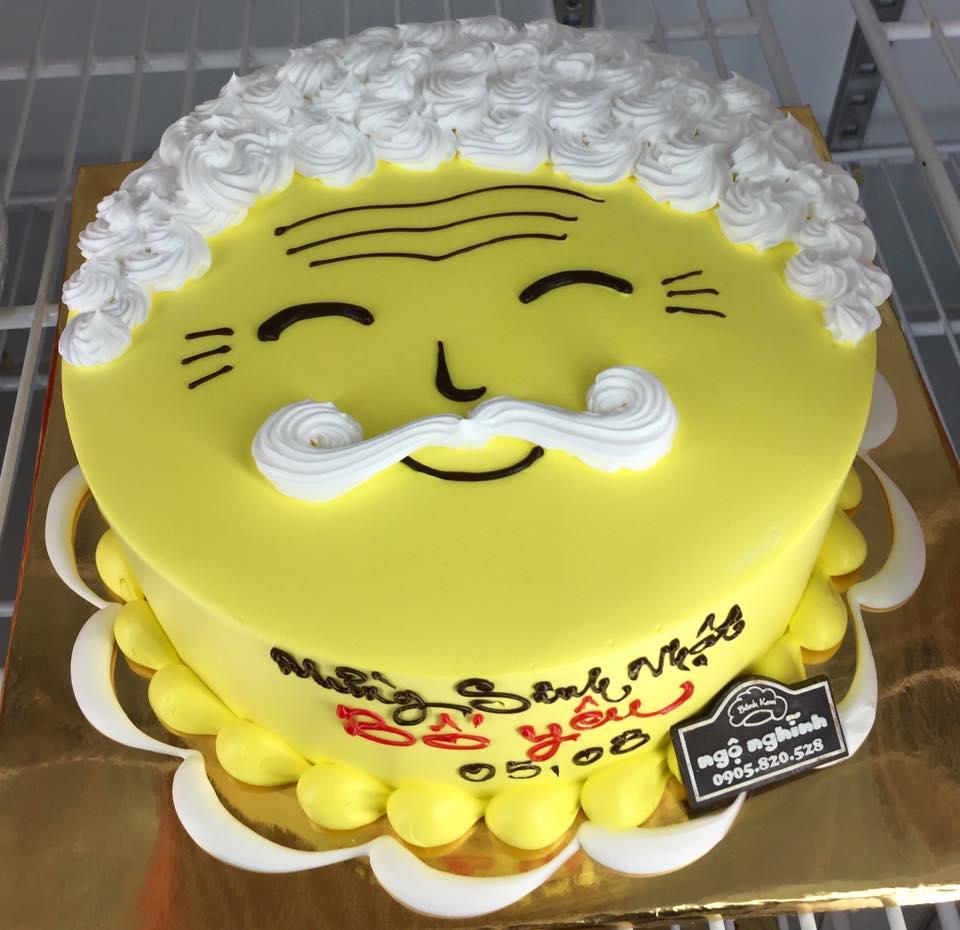 Bánh sinh nhật dễ thương cho người cao tuổi