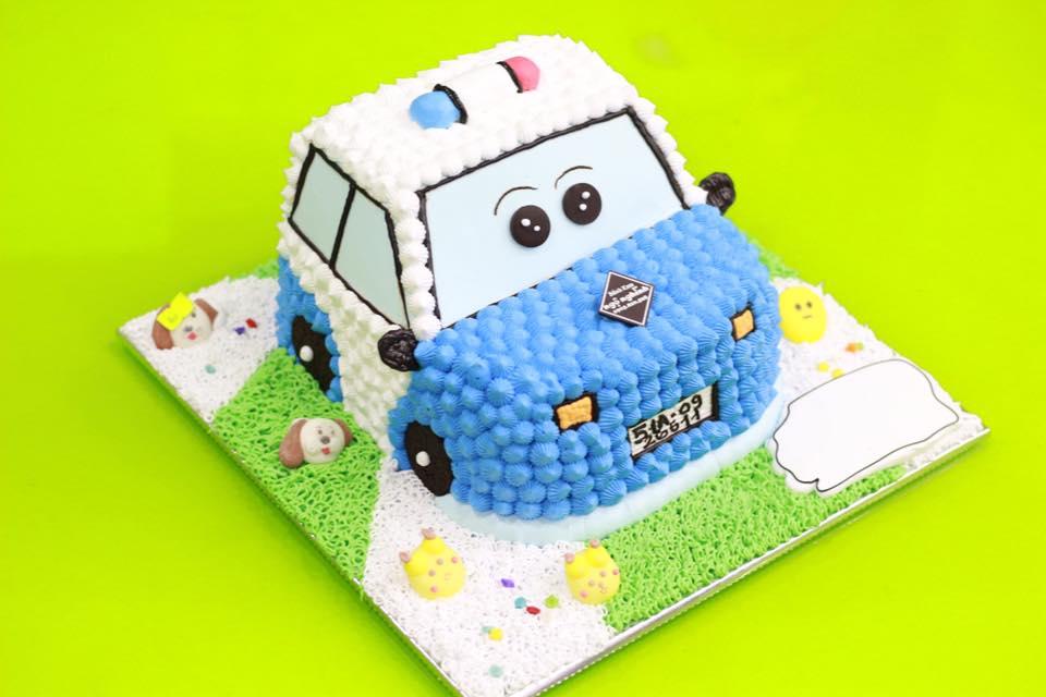 Bánh sinh nhật hoạt hình ngộ nghĩnh