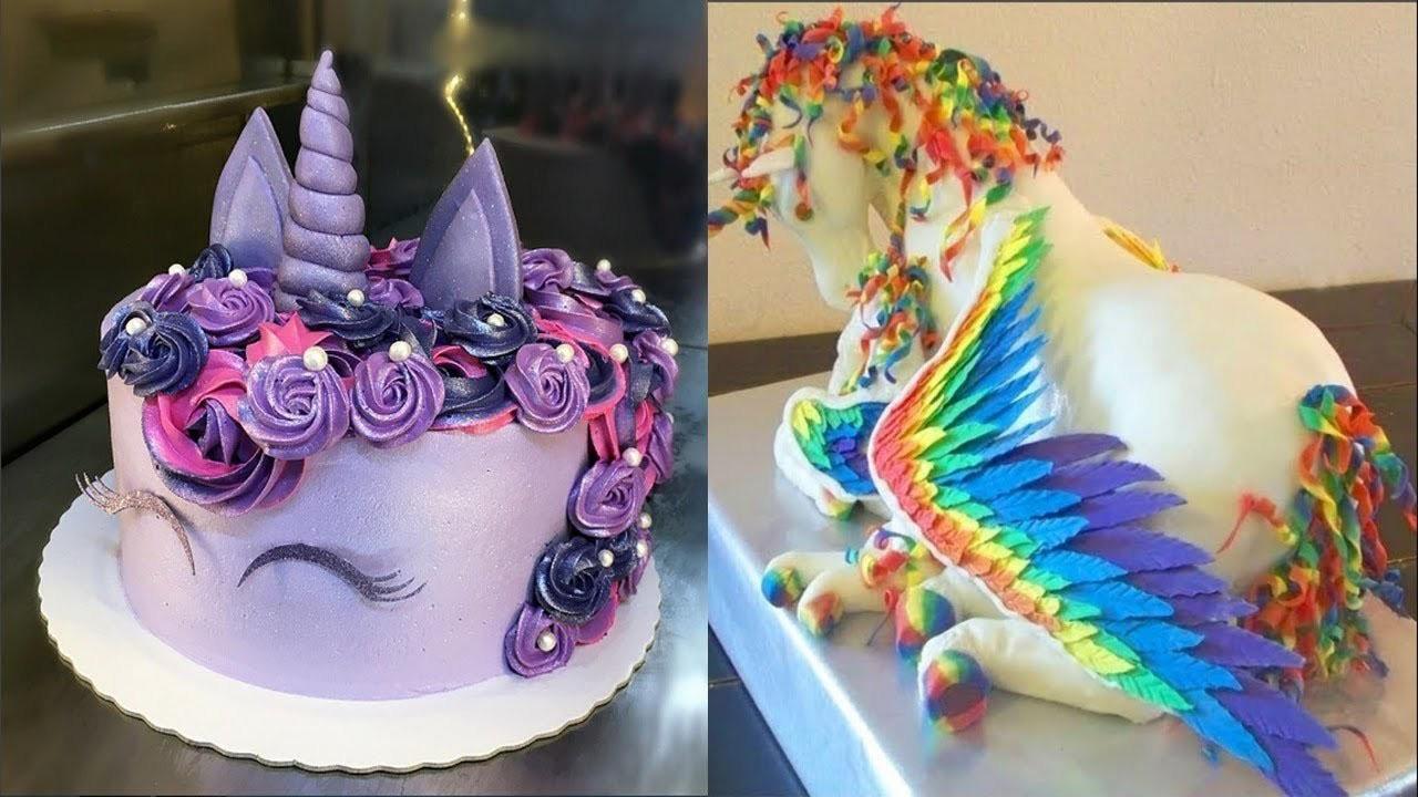 Bánh sinh nhật kì lân độc đáo và ngộ nghĩnh