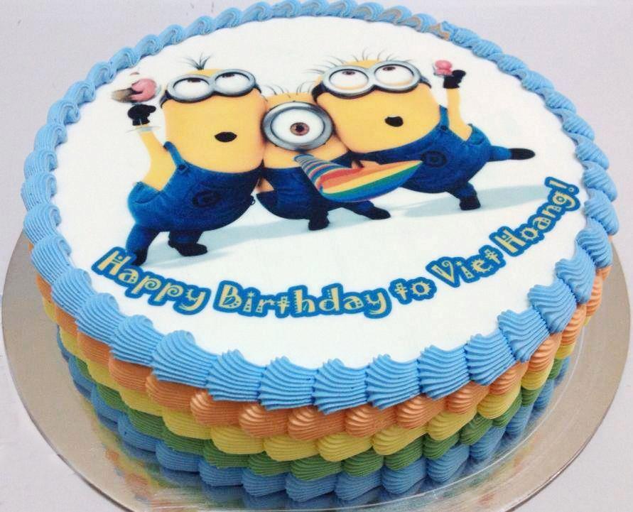 Bánh sinh nhật minion ngộ nghĩnh