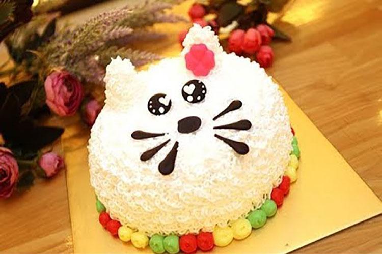 Bánh sinh nhật ngộ nghĩnh và dễ thương