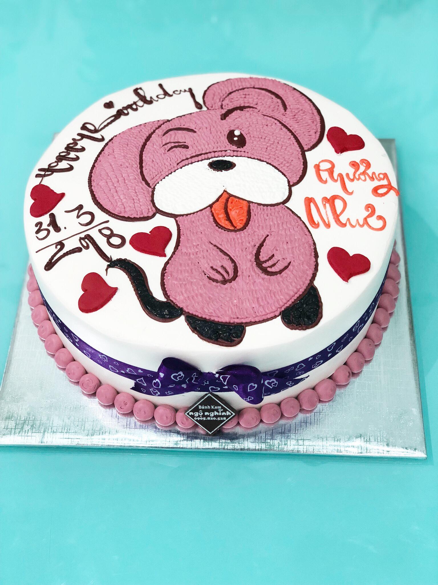 Bánh sinh nhật ngộ nghĩnh