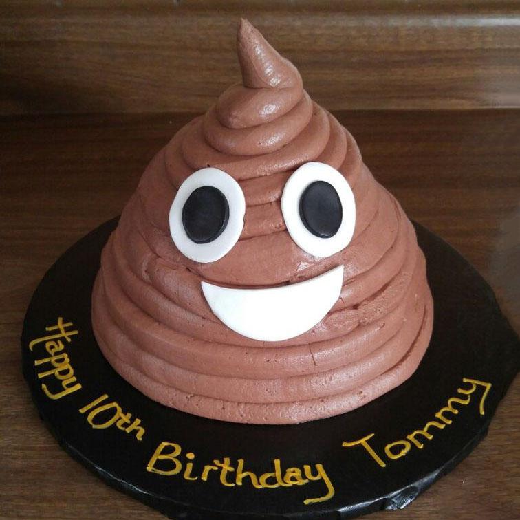 Bánh sinh nhật socola hình ngộ nghĩnh