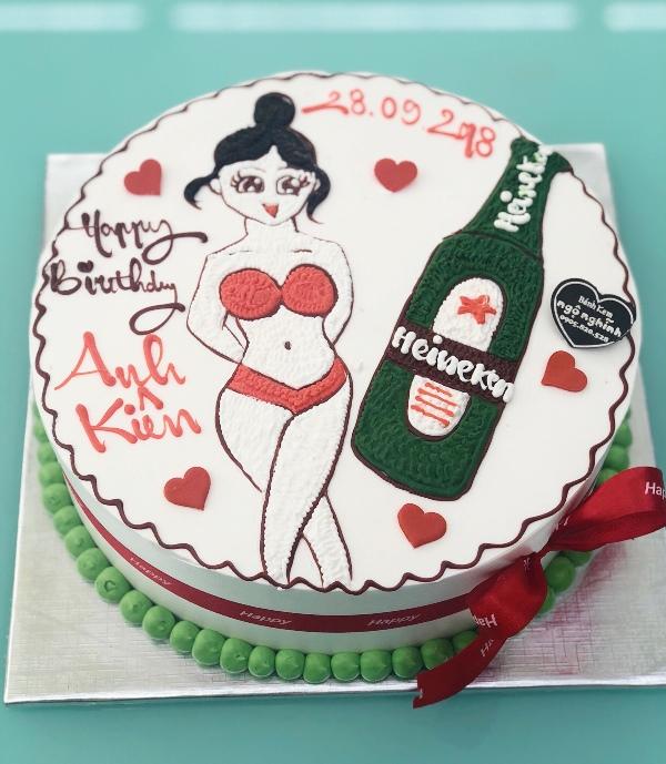 Hình ảnh bánh sinh nhật độc đáo và ngộ nghĩnh