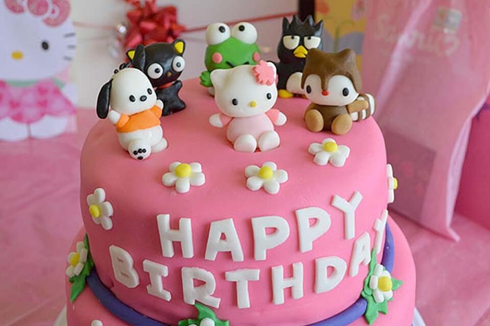 Hình bánh sinh nhật ngộ nghĩnh