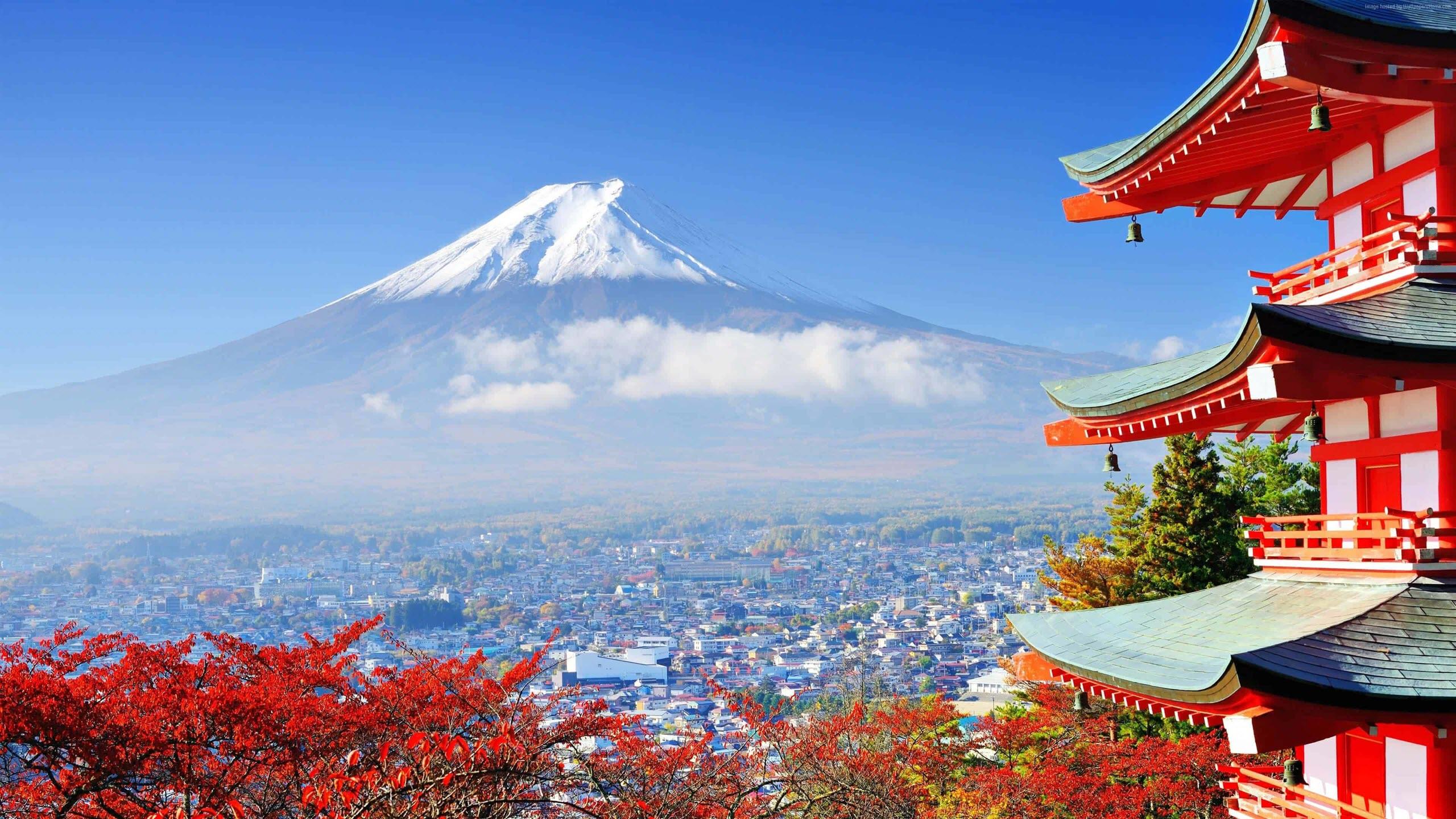 Hình nền 2K núi Phú Sĩ