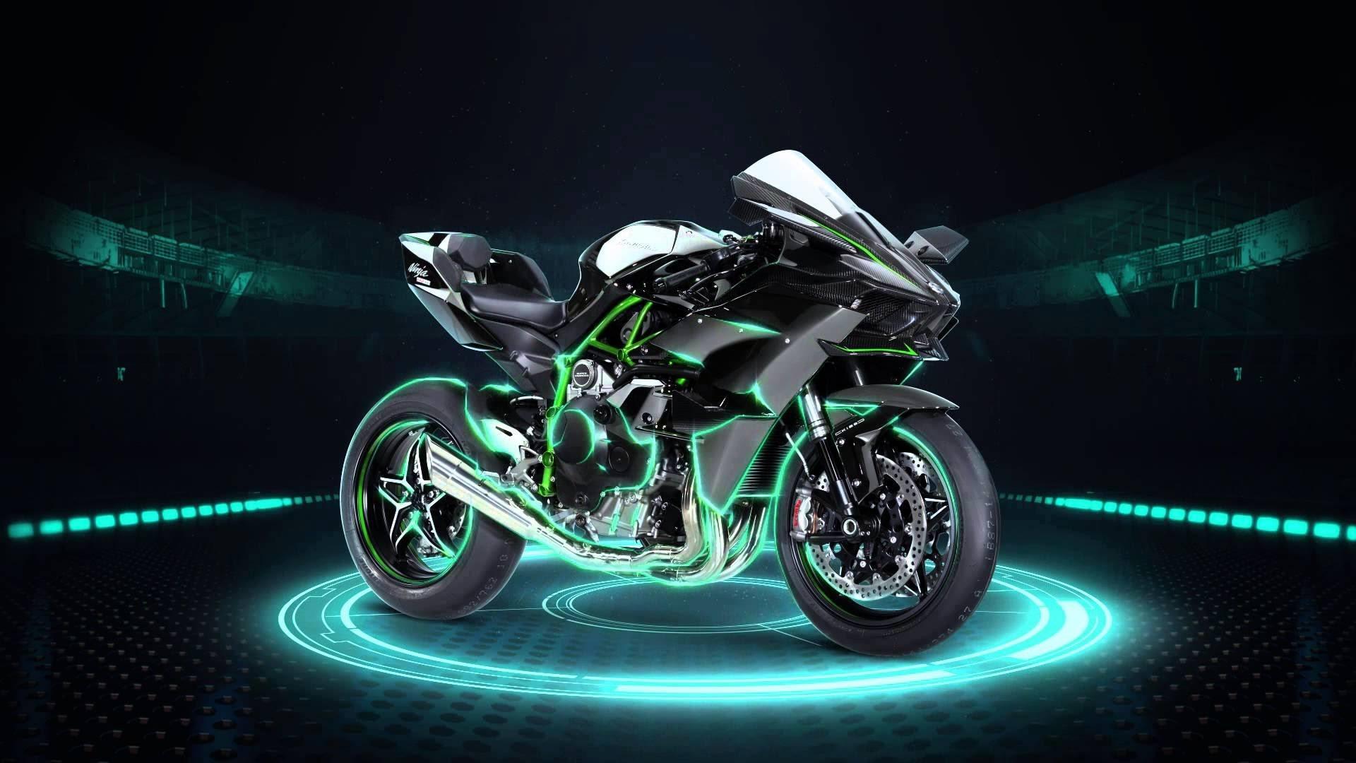 Hình nền 3D xe moto