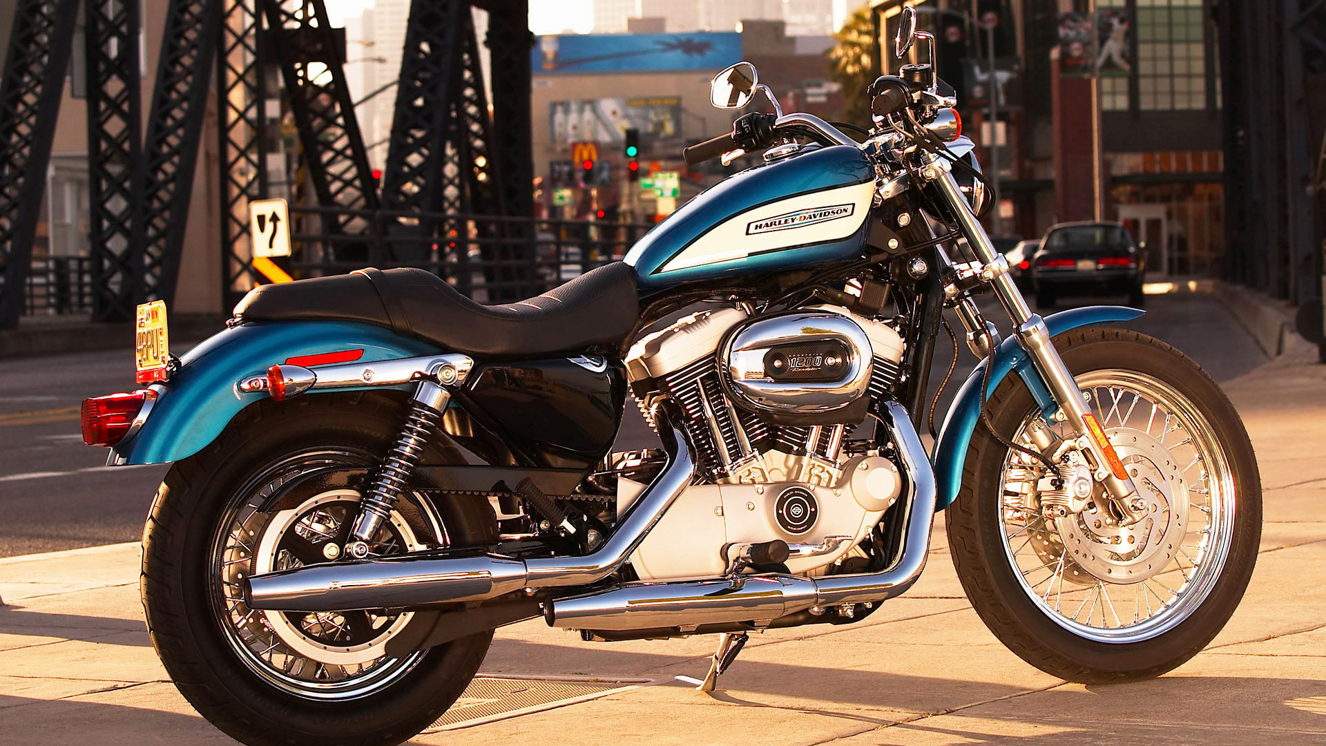Hình nền xe moto harley davison