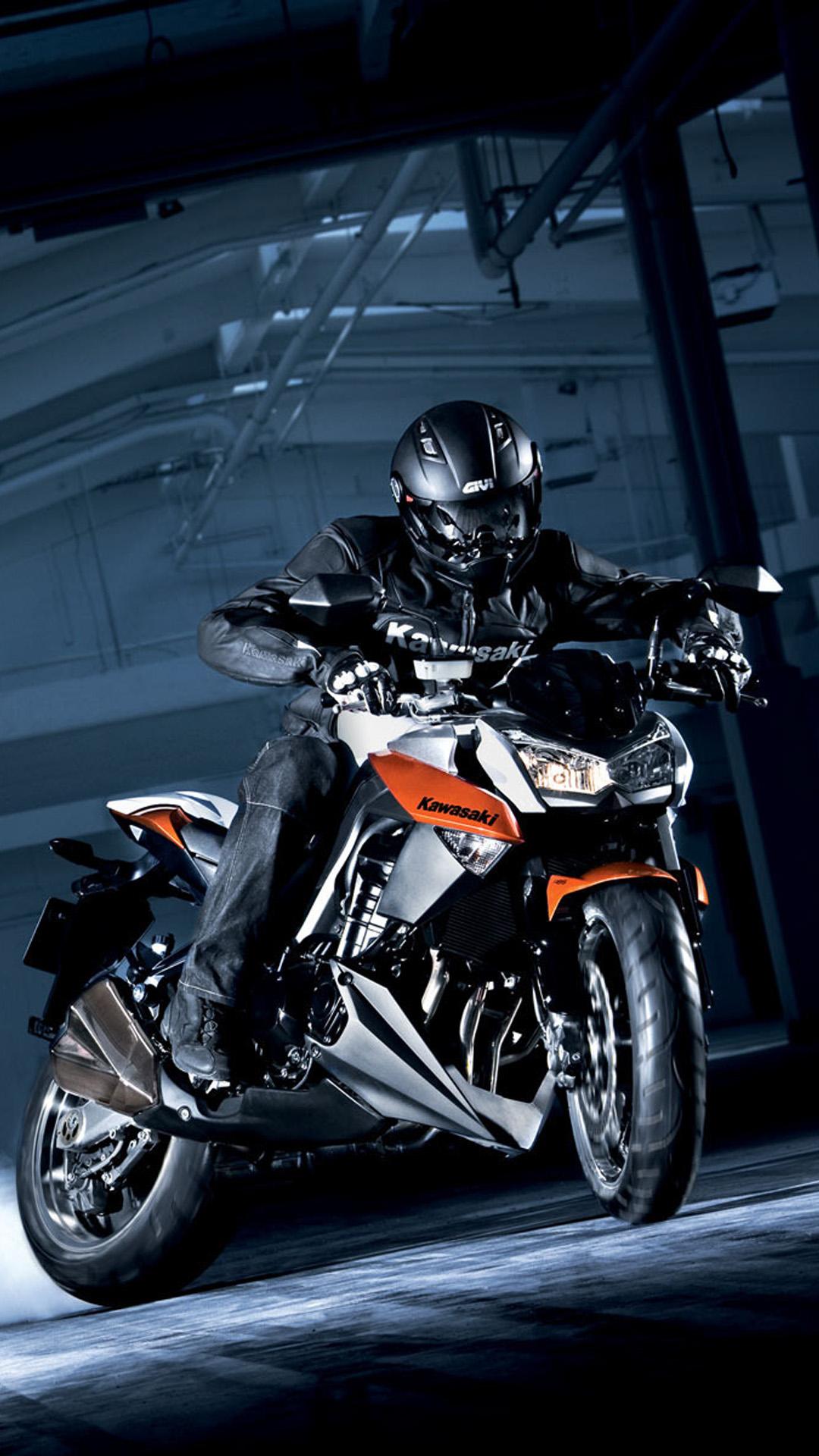 Hình nền xe moto kawasaki cho điện thoại