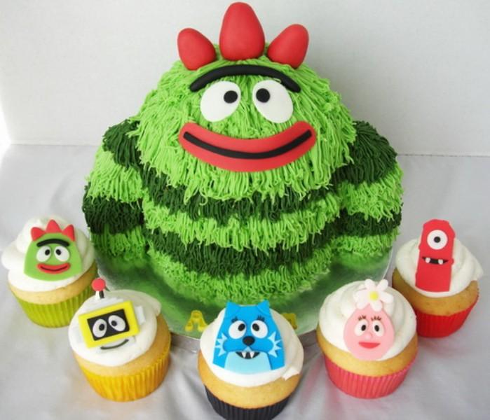 Mẫu bánh sinh nhật đẹp và dễ thương