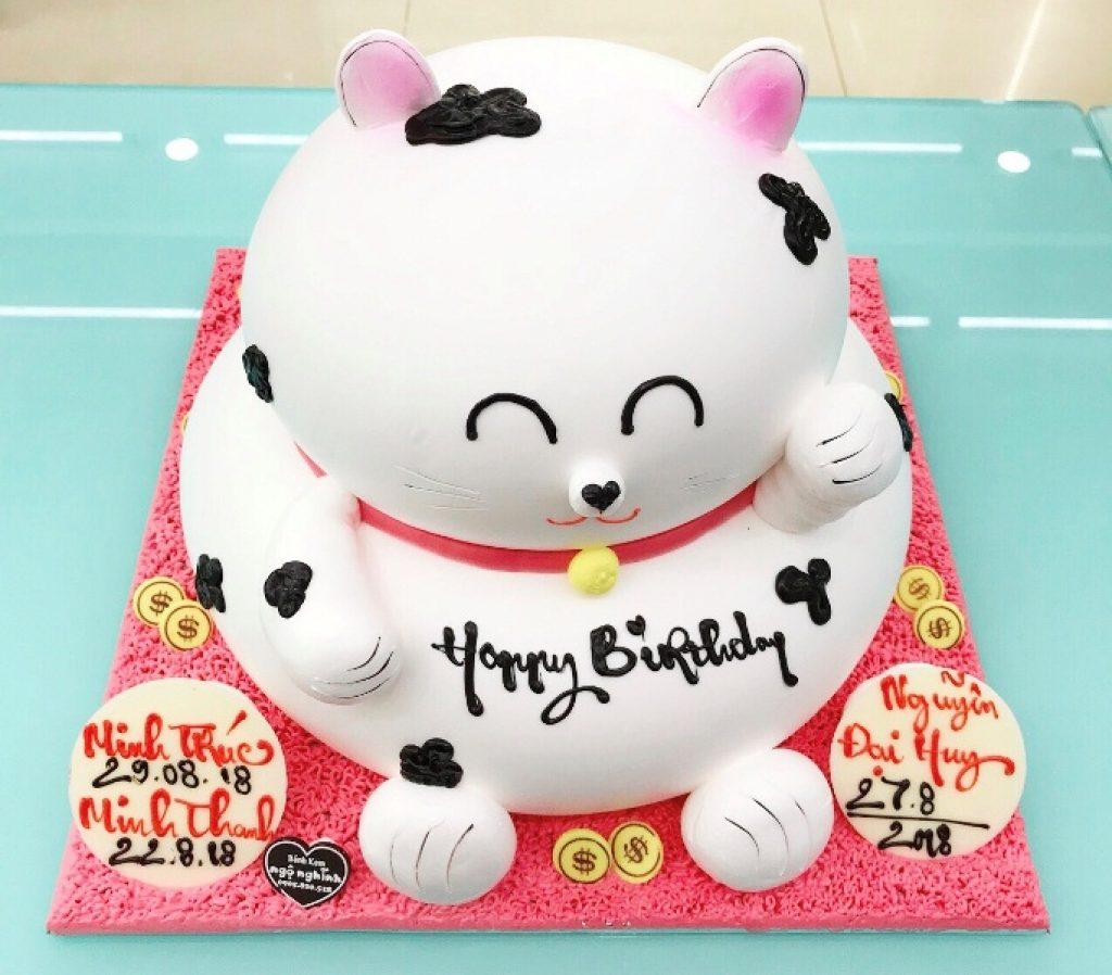 Mẫu bánh sinh nhật đẹp và ngộ nghĩnh