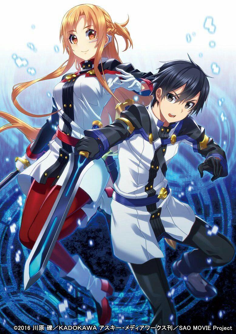 Ảnh Asuna và Kirito