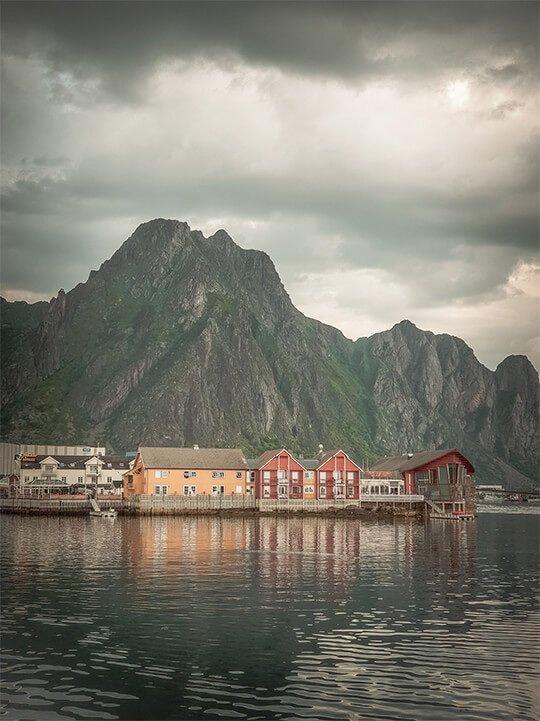 Ảnh phong cảnh buồn trên đảo