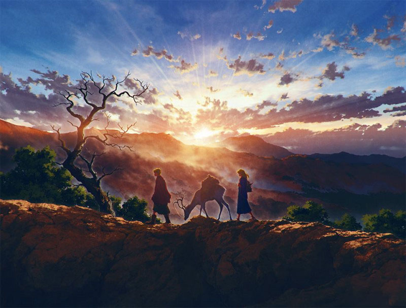 Hình ảnh biểu tượng cho sự yên bình