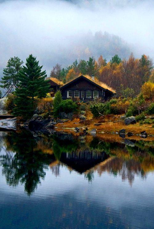 Hình ảnh buồn phong cảnh bên hồ