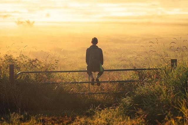 Hình ảnh phong cảnh buồn, cô đơn