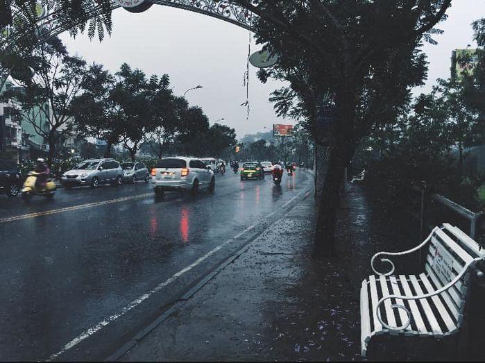 Hình ảnh phong cảnh buồn ngày mưa