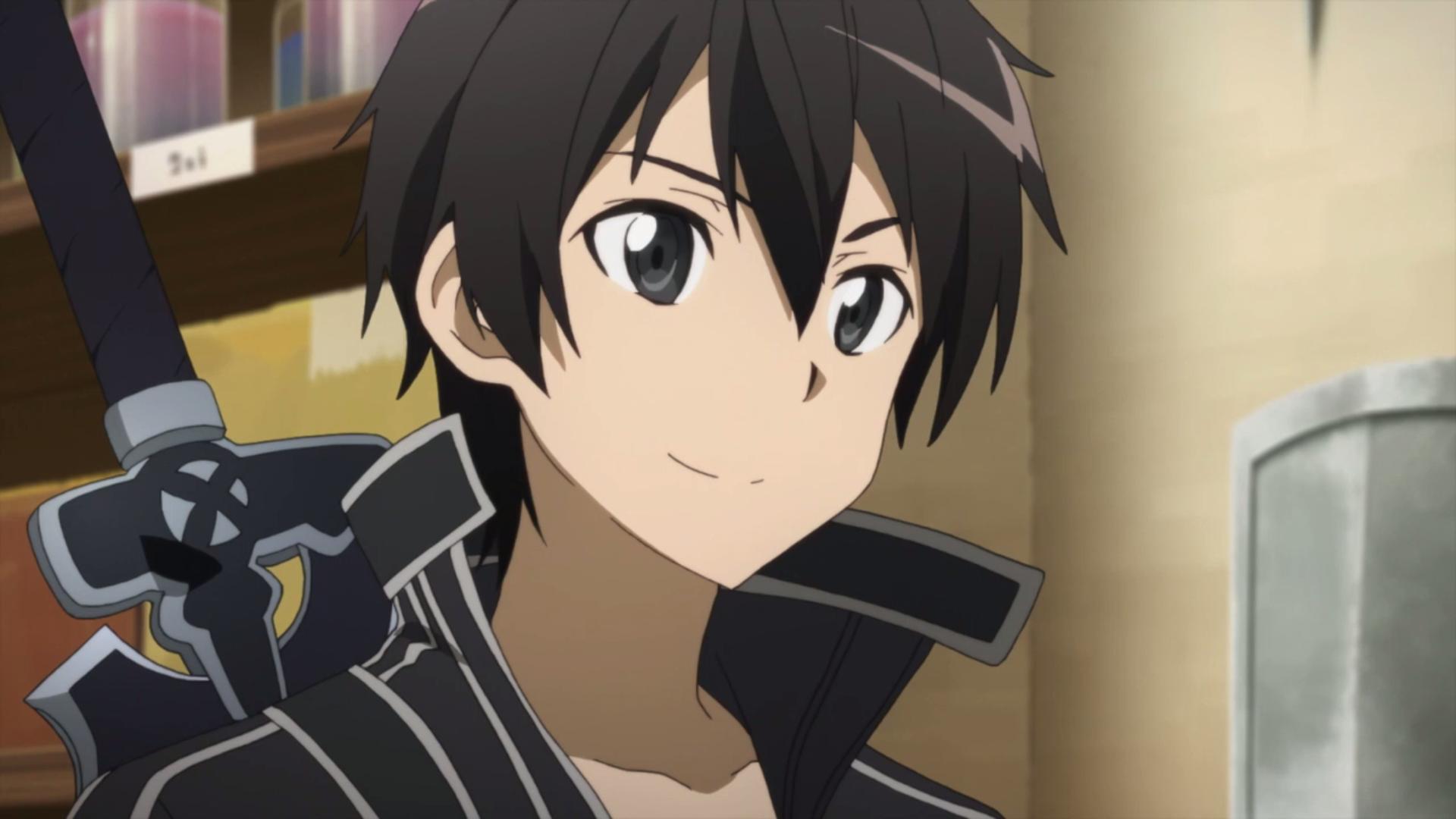 Hình ảnh thánh Kirito cực đẹp đang mỉm cười