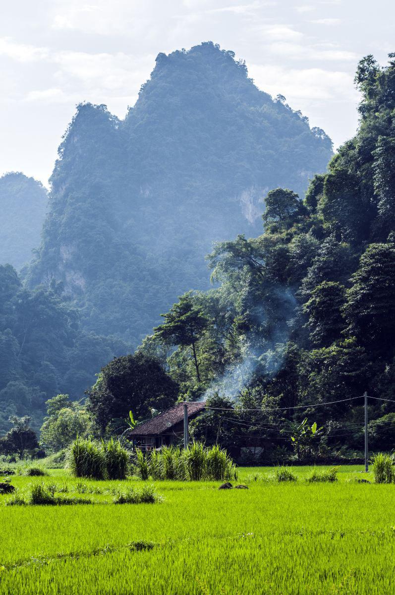 Hình ảnh về làng quê yên bình