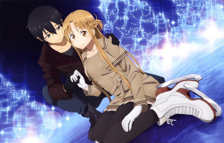 Hình Asuna và Kirito cực đẹp