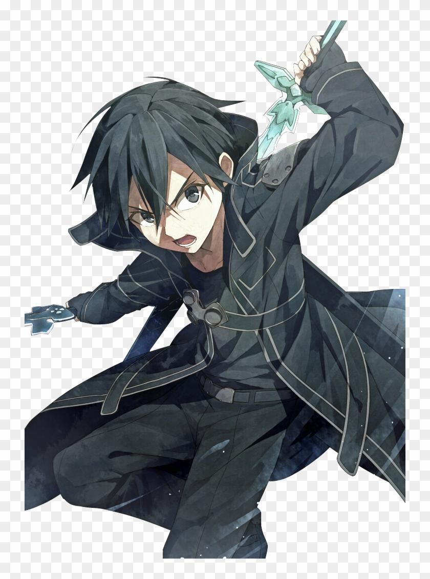 Hình Kirito chiến đấu rất đẹp
