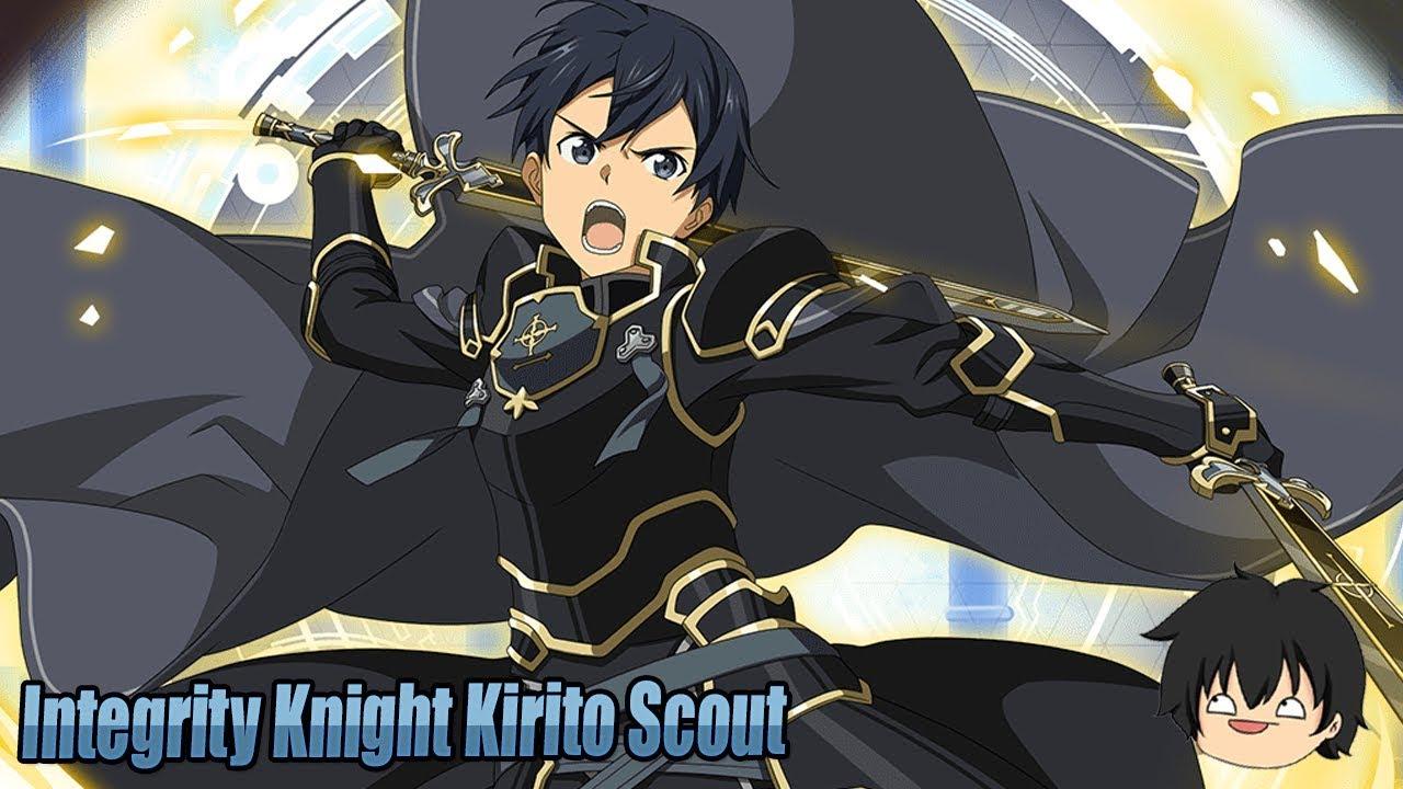 Hình Kirito mặc giáp