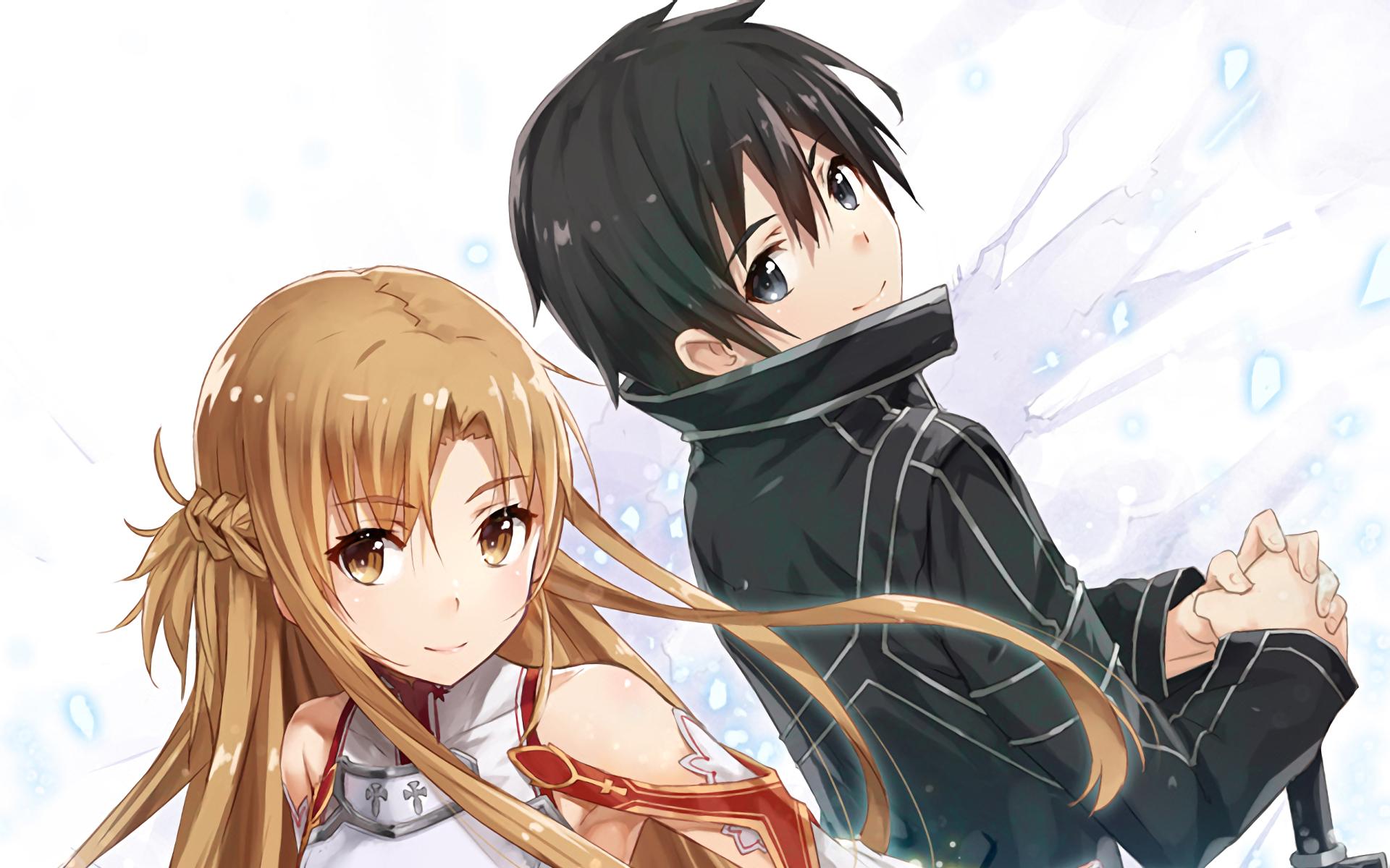 Hình Kirito và Asuna cực đẹp