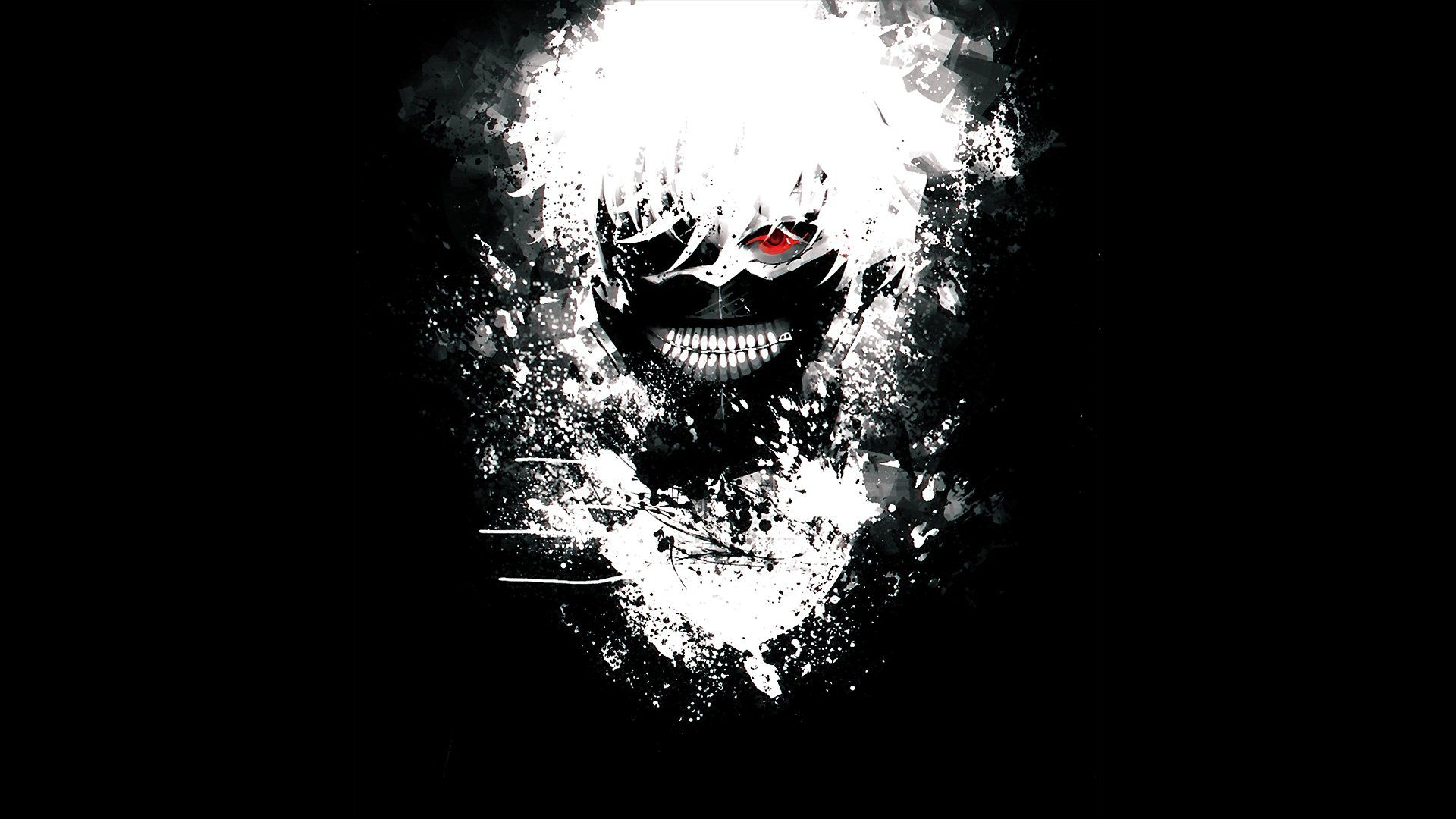 Hình nền đen cực đẹp Tokyo Ghoul