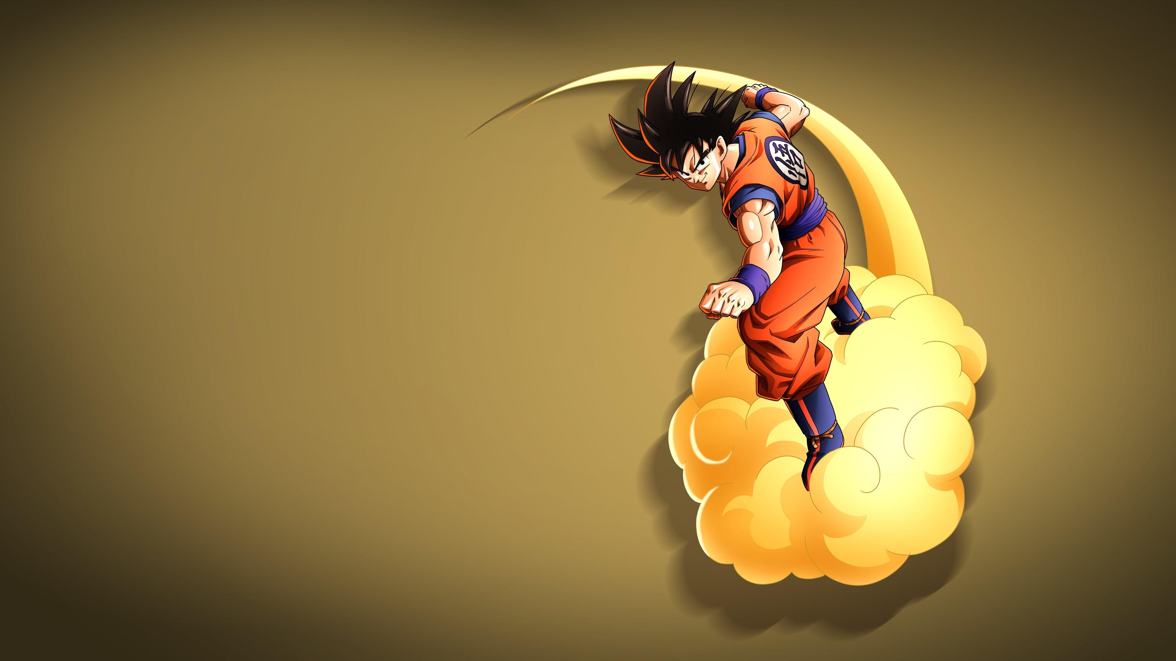 Hình nền Dragon Ball cưỡi cân đẩu vân