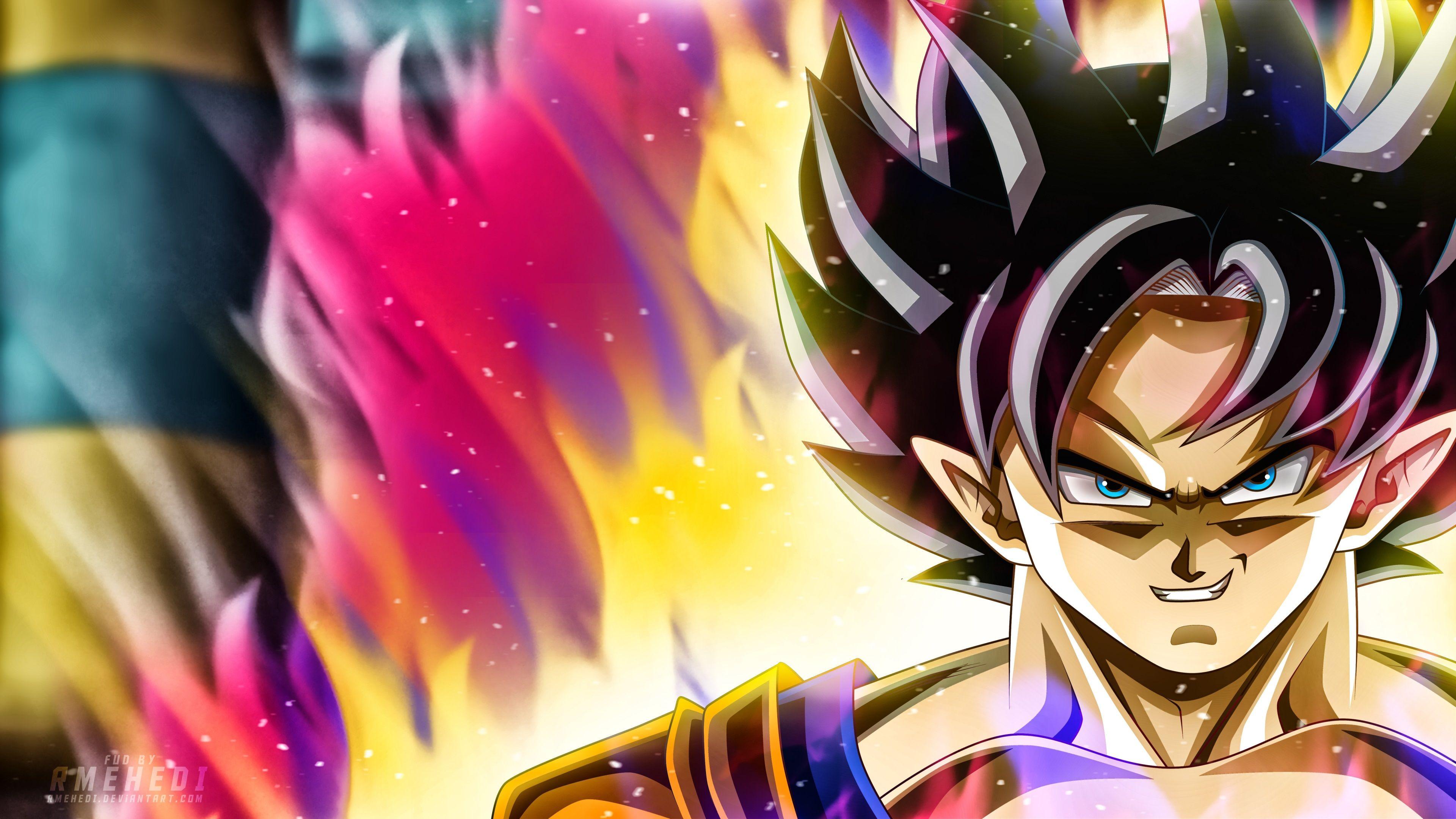 Hình nền Dragon Ball đầy màu sắc