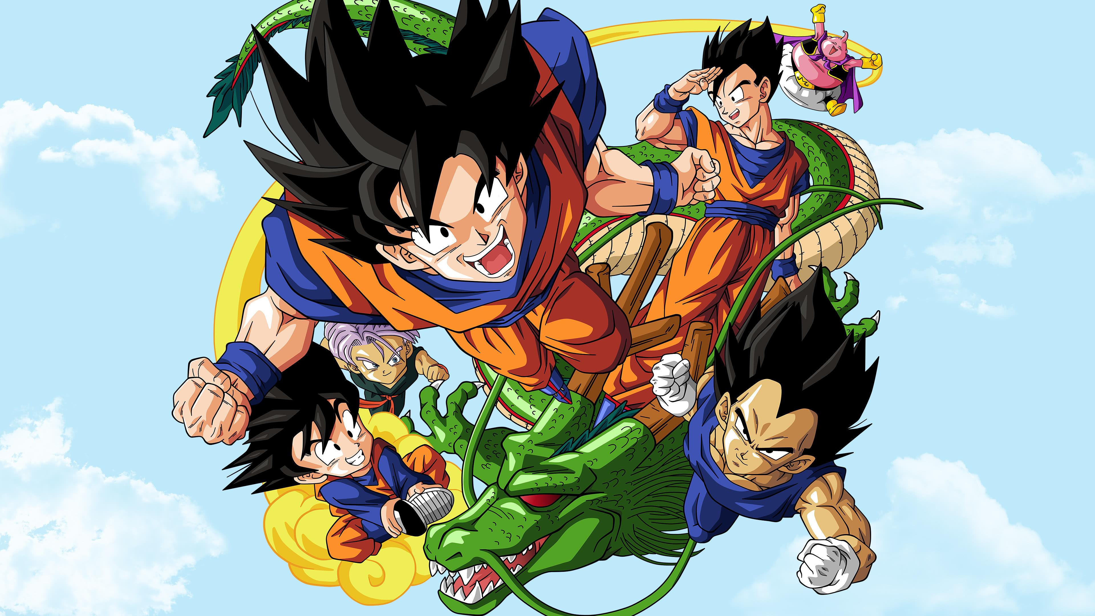 Hình nền Dragon Ball và rồng thần