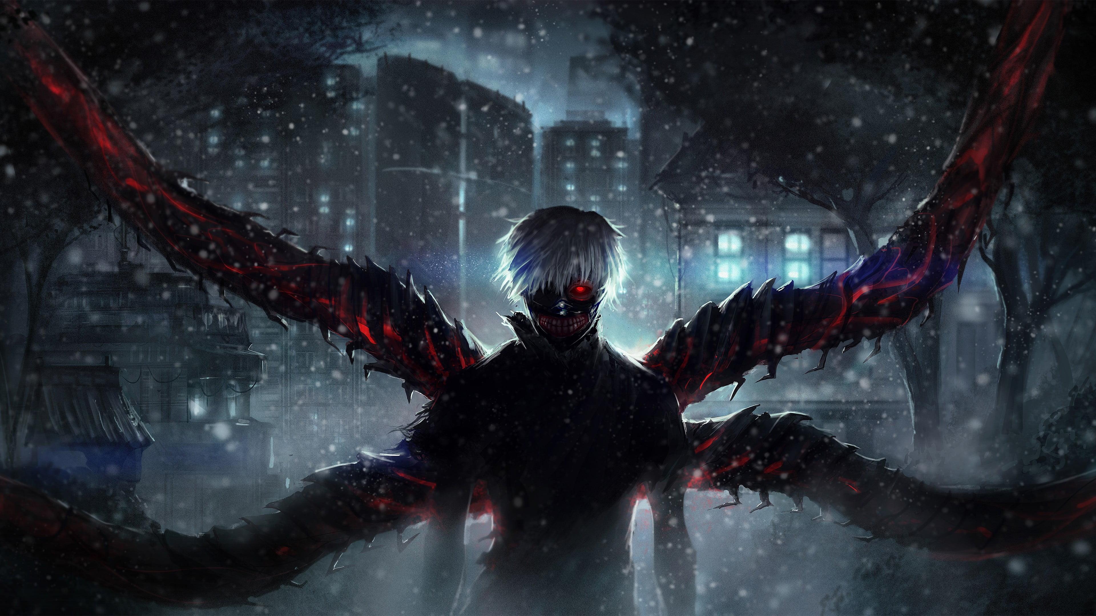 Hình nền Tokyo Ghoul bung tỏa sức mạnh khủng khiếp