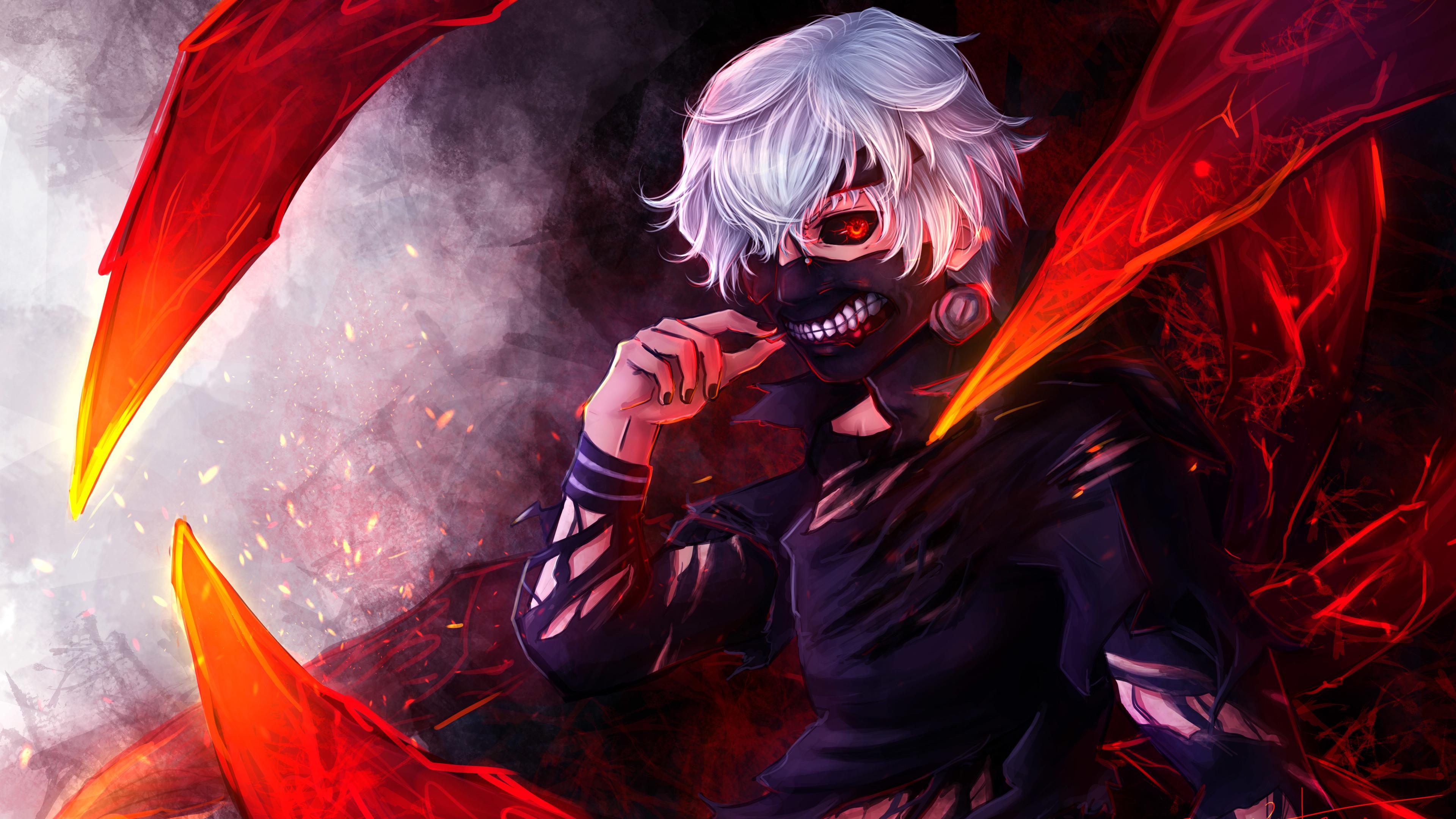 HÌnh nền Tokyo Ghoul cực đẹp Ken cực chất