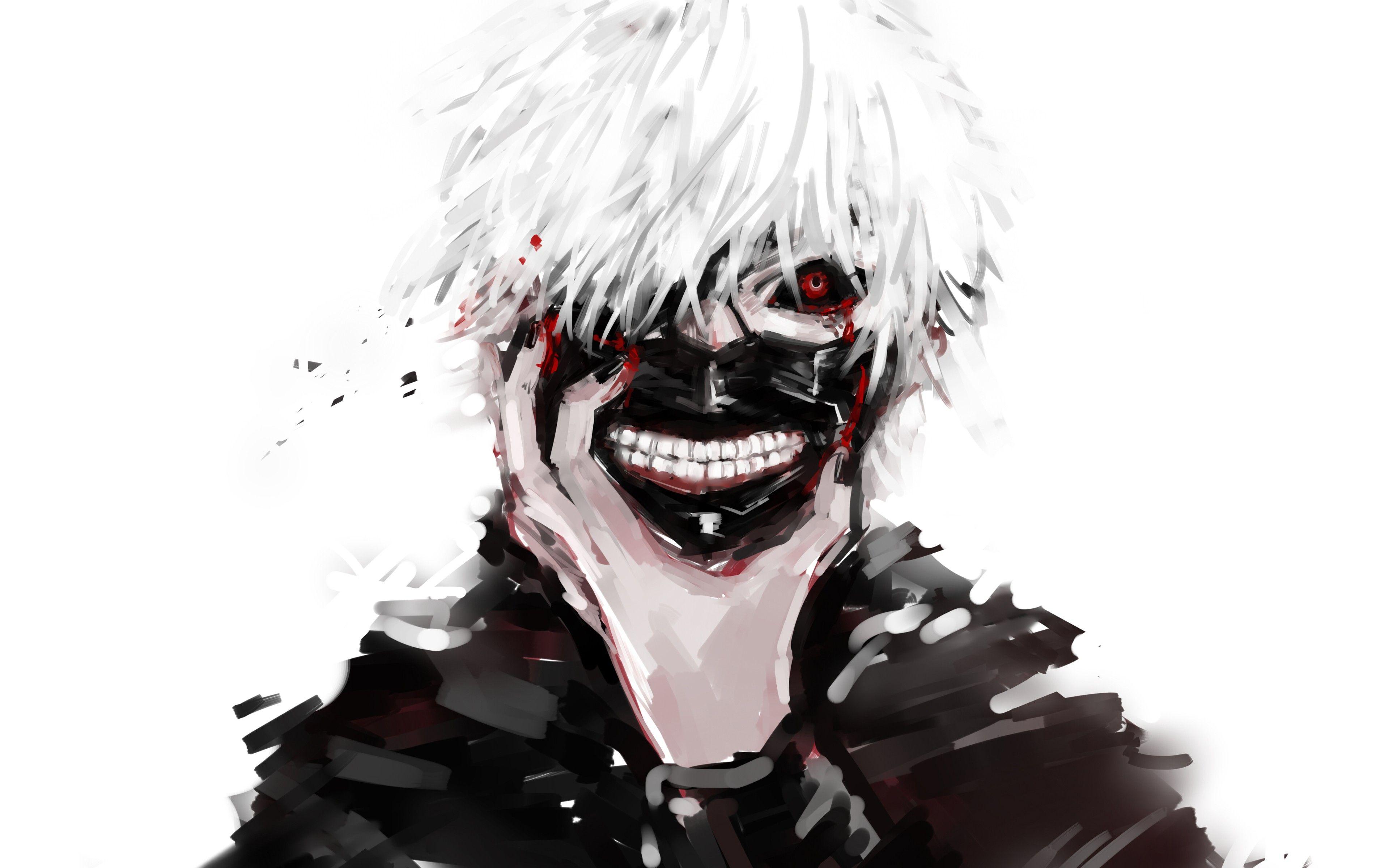 Hình nền Tokyo Ghoul Ken biến hóa cực đẹp