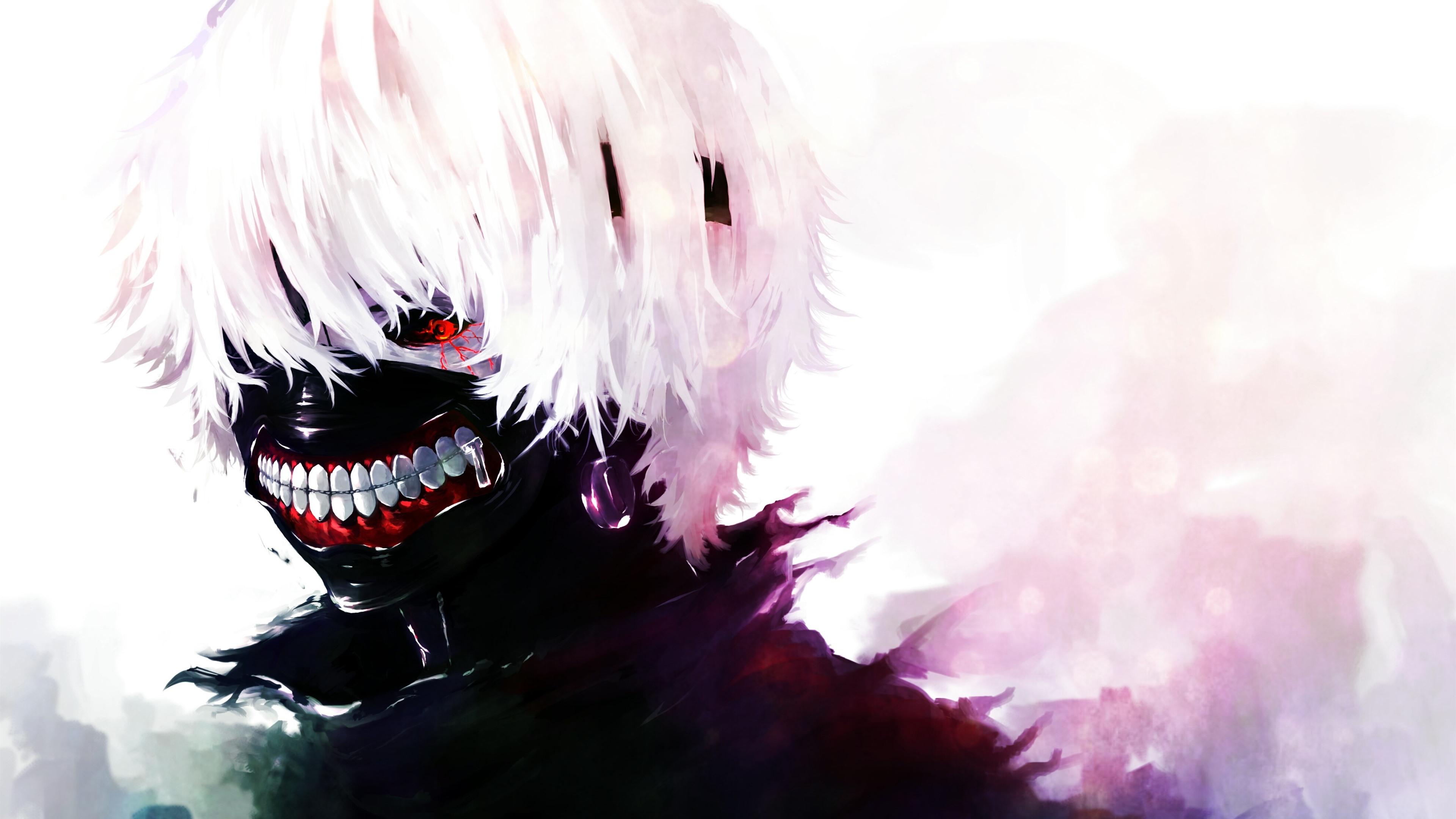 Hình nền Tokyo Ghoul tông trắng đen cực đẹp