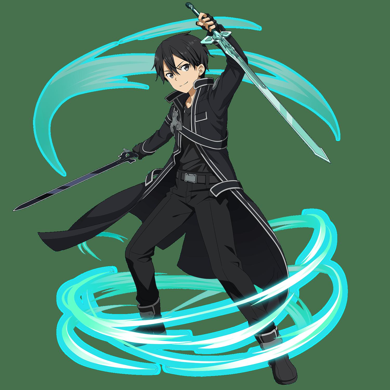 HÌnh nền trong Kirito cầm song kiếm