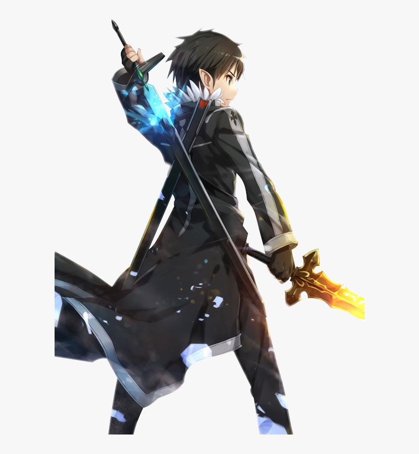 Hình rút kiếm cực đẹp của Kirito