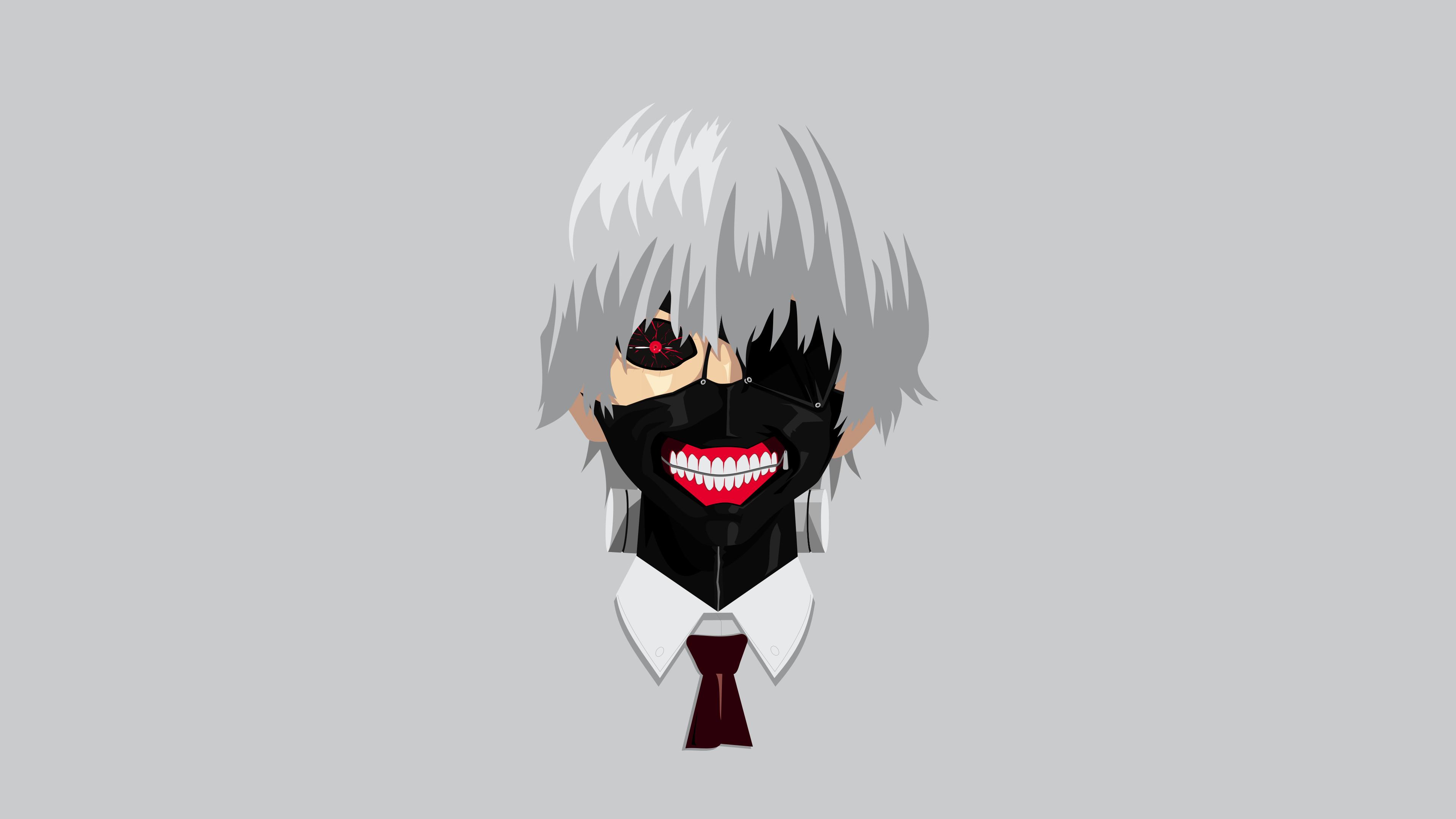 Tokyo Ghoul hình nền đầu Ken cực đẹp