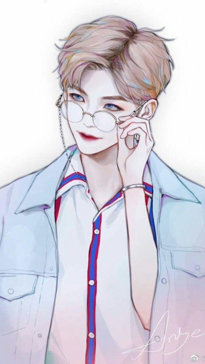 Ảnh anime chàng trai Hàn Quốc rất đẹp trai