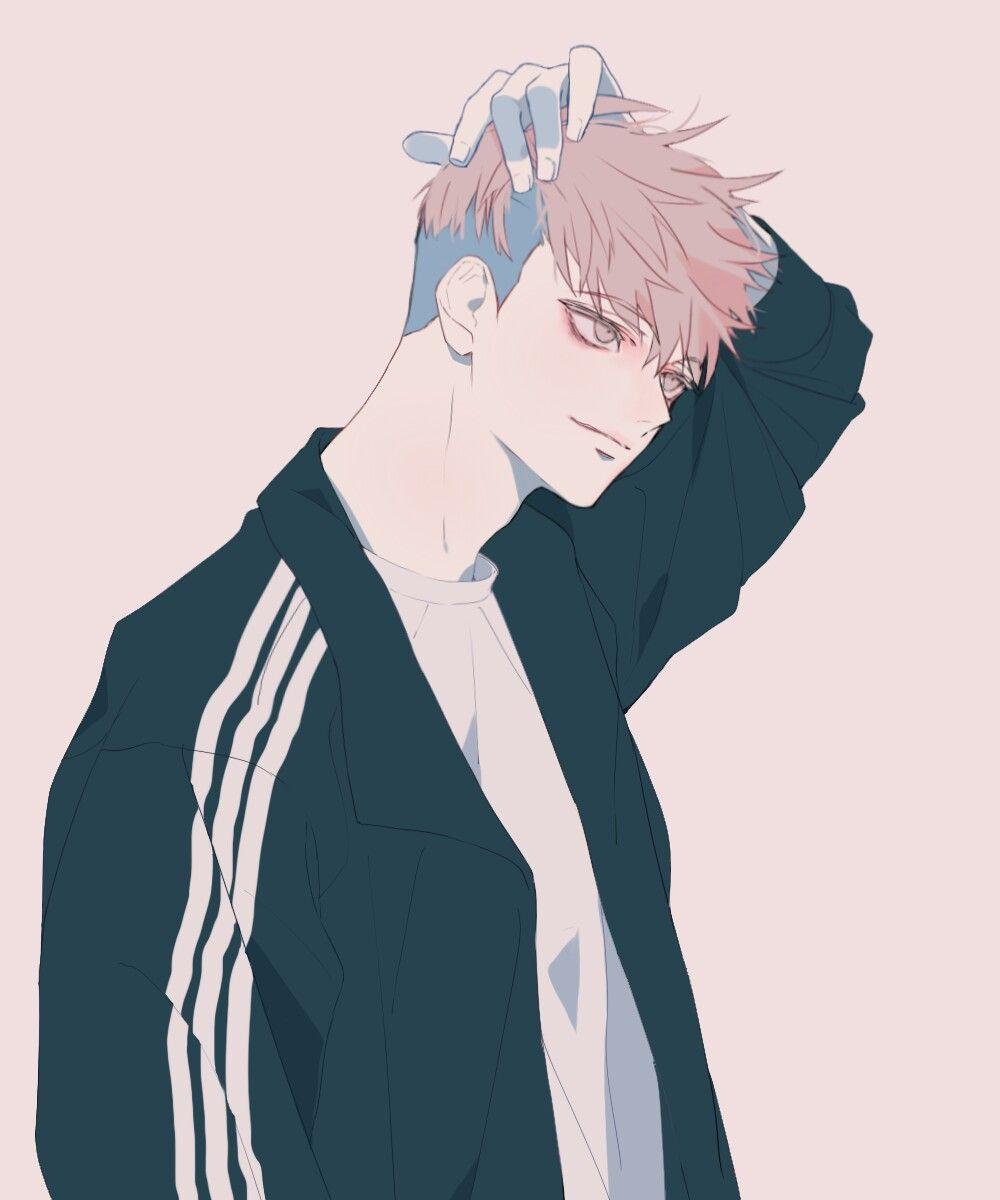Ảnh anime Hàn đẹp chàng trai mặc áo thể thao
